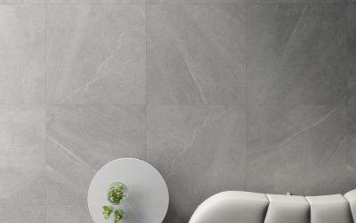 Foto 1. Keramische zand/kalksteen in 80x80 formaat