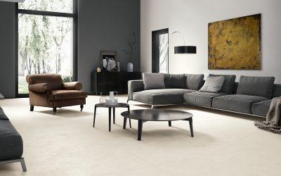 Foto 4. Een effen minimalistische vloertegel.