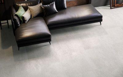 Foto 7. Een prachtige grijze metaal look tegel