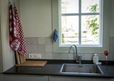 Keuken achterwand met 13×13 witjes