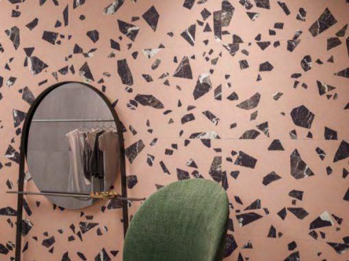 Foto 10. Grote kiezels met roze ondergrond