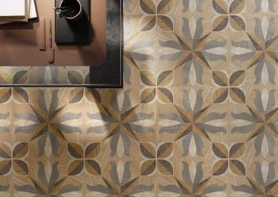 Foto 10. Patroon tegel met houtstructuur 20x20